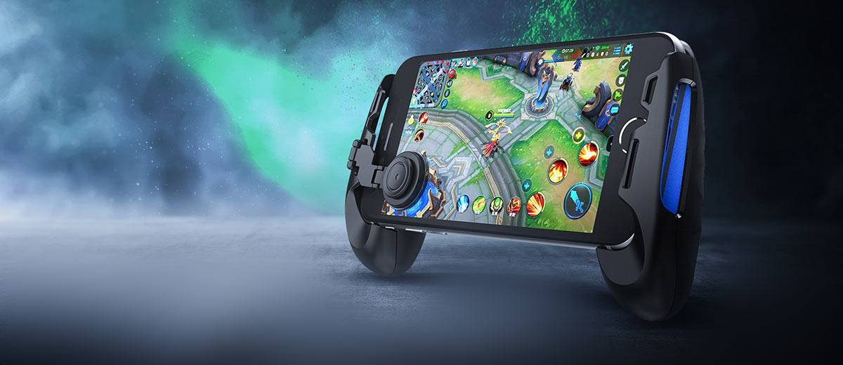 GameSir F1 with Smartphone