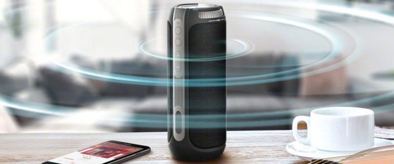 TaoTronics 360 Bluetooth Speaker Review (TT SK-11)