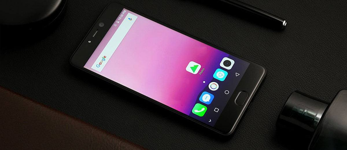 Leagoo T5 Smartphone Black