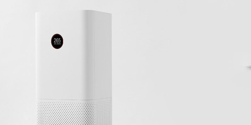 Xiaomi Home Air Purifier Pro OLED Display