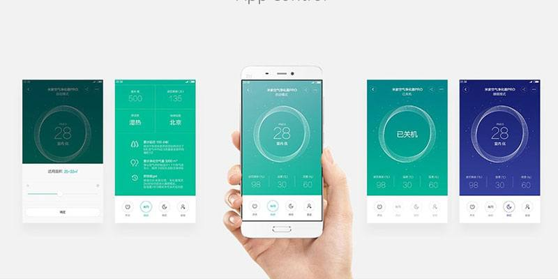 Xiaomi Home Air Purifier Mi Home App Functions