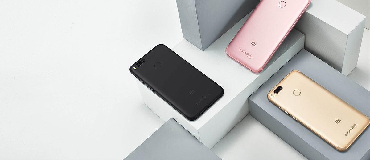 Xiaomi Mi A1 Smartphone Design