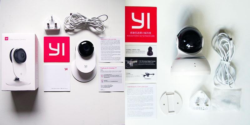 Yi Camera Packaging