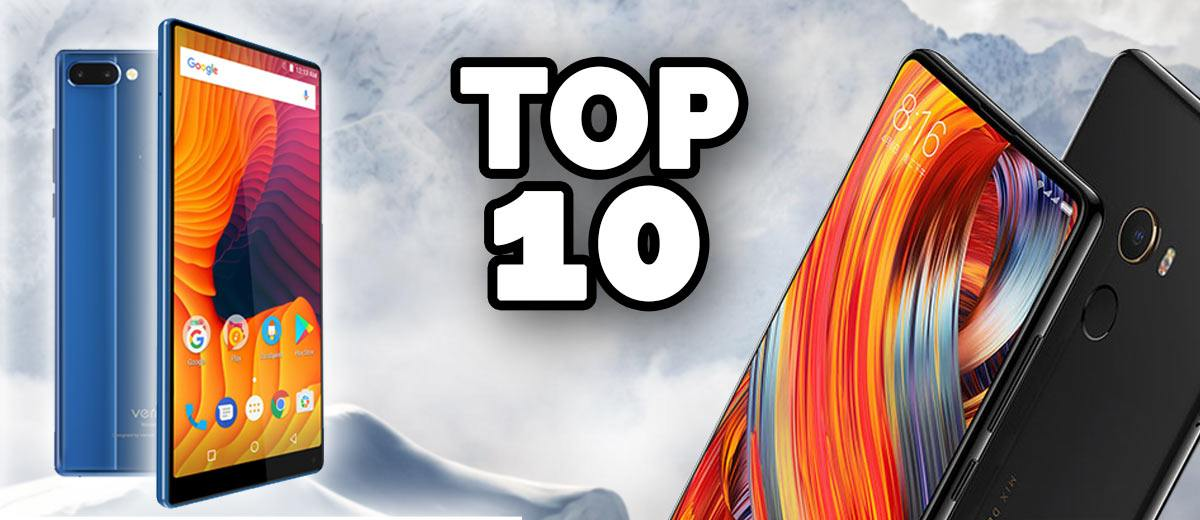 Top 10 The Best Bezel Less Amp Borderless Phones 2018