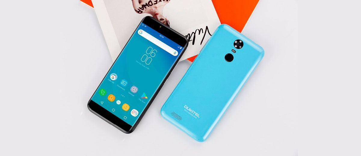 Oukitel C8 4G Mobile Blue