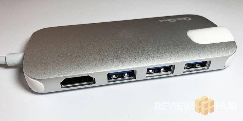 QacQoc Aluminium USB Type-C Hub Design