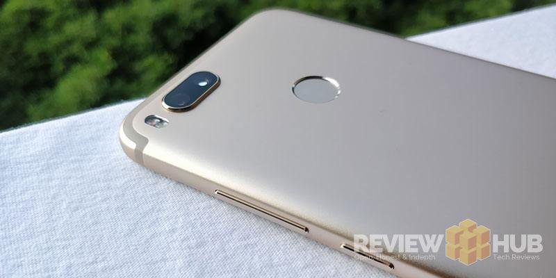 Xiaomi Mi A1 Build Quality