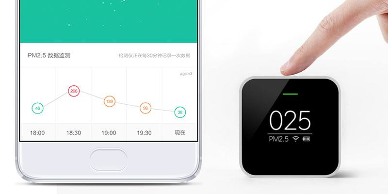 Xiaomi Portable Air Quality Monitor App