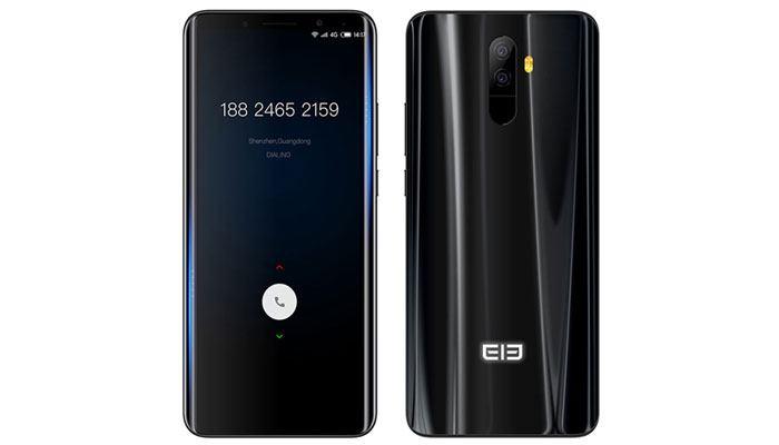 Back Front Elephone U Pro