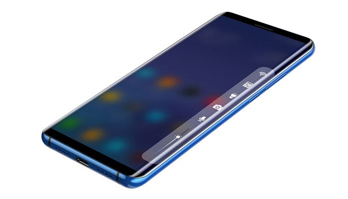 Edge Navigation Elephone U Pro
