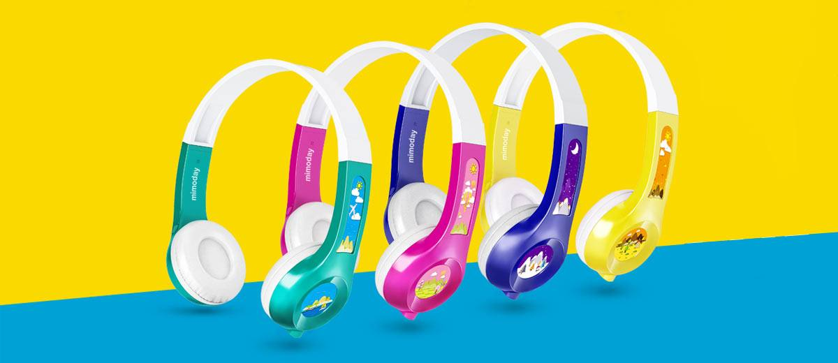 MIMODAY Kids Headphones