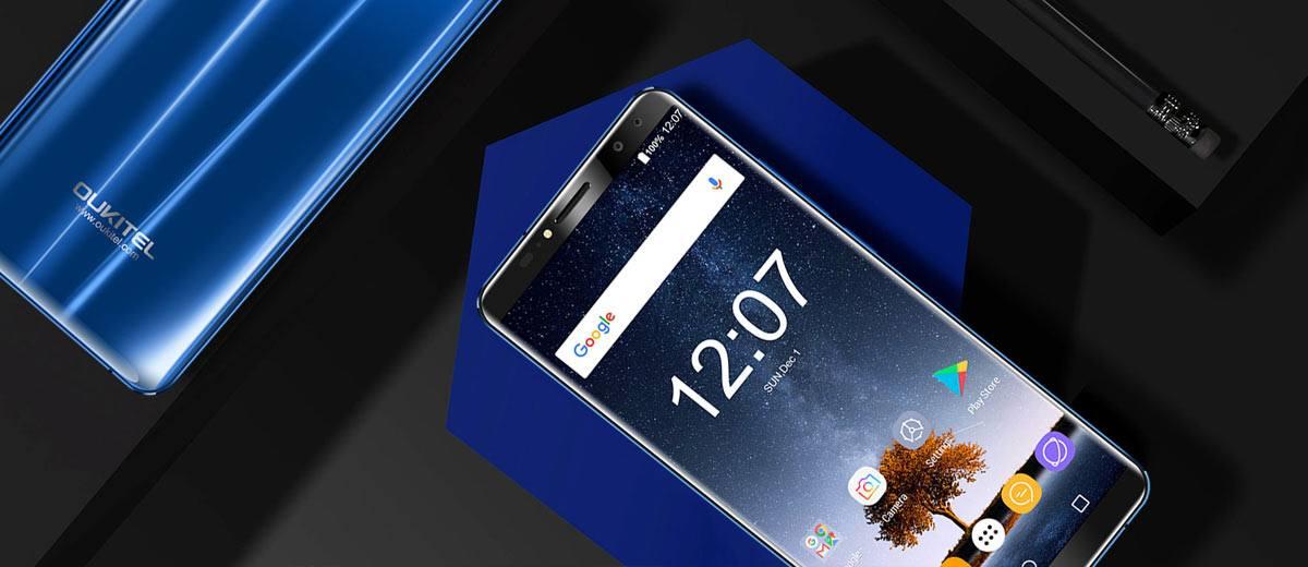 Oukitel K6 Smartphone Black