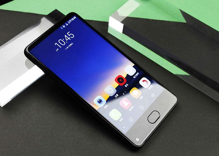 UHANS MX smartphone Black