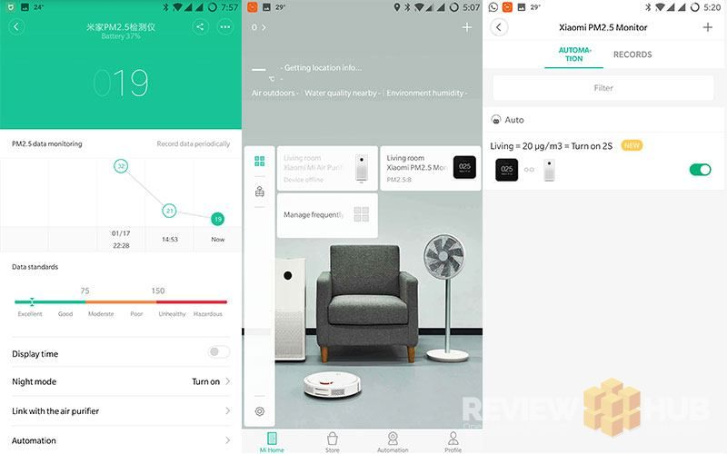 Xiaomi PM2.5 Air Quality Monitor Software