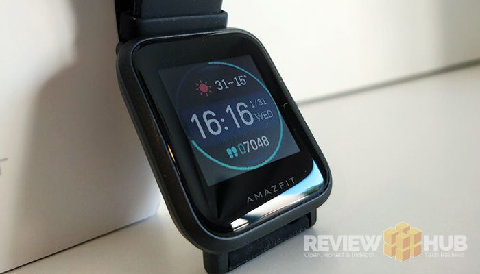 Amazfit Bip Fitness Smartwatch Display