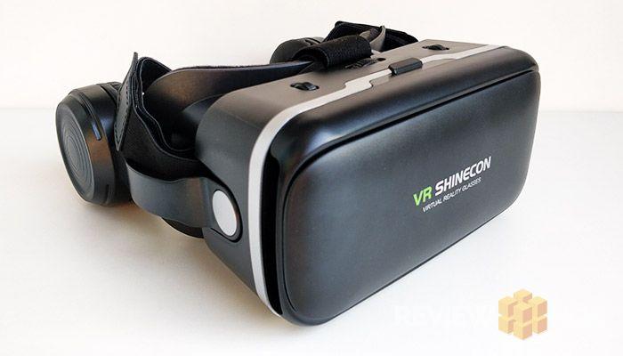 VR Shinecon 6.0 VR Headset Black