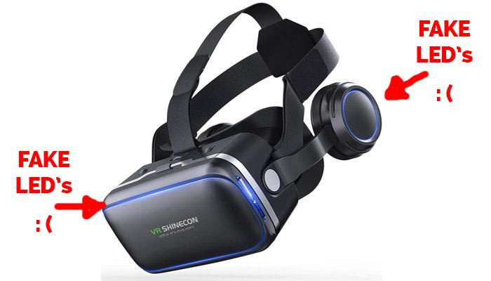 VR Shinecon 6.0 VR Headset