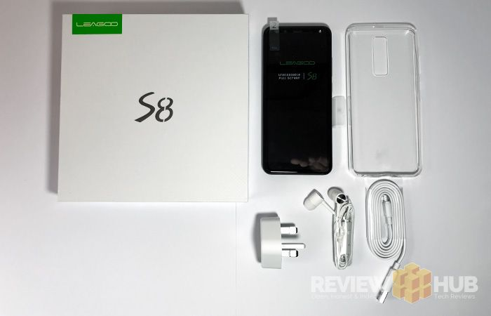 Leagoo S8 unboxing