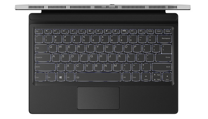 Lenovo Miix 520 Backlit keyboard