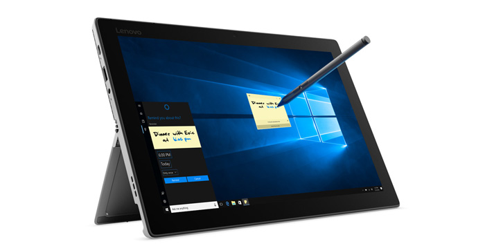 Lenovo Miix 520 Touchscreen and Stylus