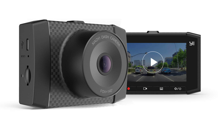 Yi Ultra Dash Cam Black