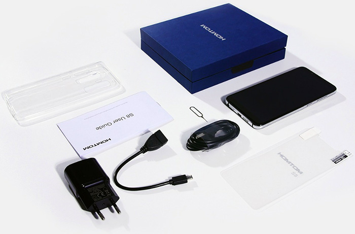 HomTom S8 Box Contents