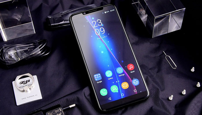 HomTom S8 Display