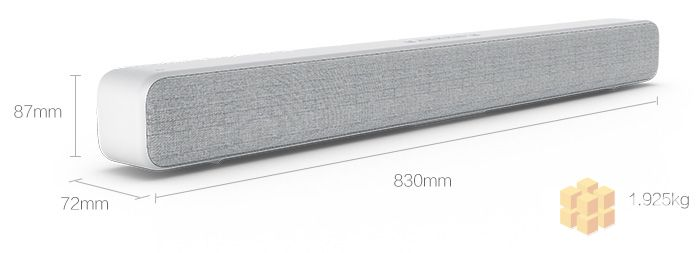 Xiaomi Mi TV Soundbar Dimensions