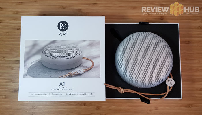 B&O Beoplay A1 Unboxing
