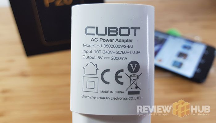 Cubot P20 Battery Life