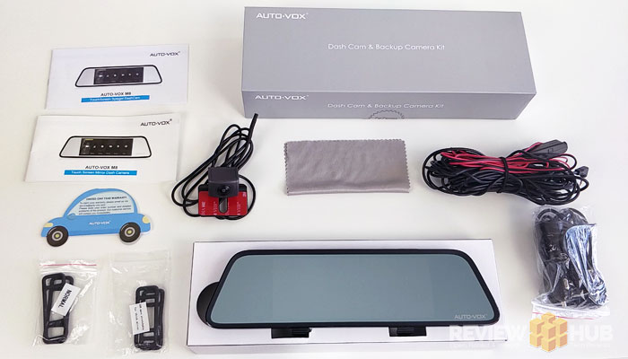 AUTO-VOX M8 Box Contents