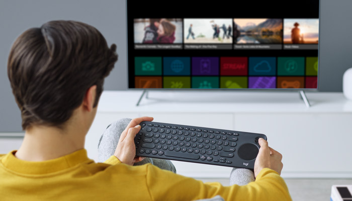 Logitech K600 TV Controls