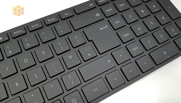 Microsoft Designer Keyboard Layout