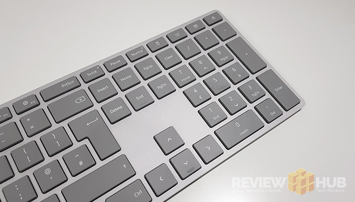 Microsoft Modern Keyboard Layout