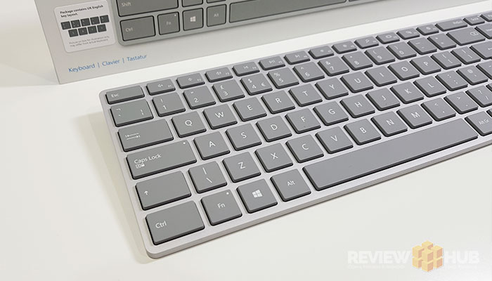 Microsoft Surface Keyboard Layout
