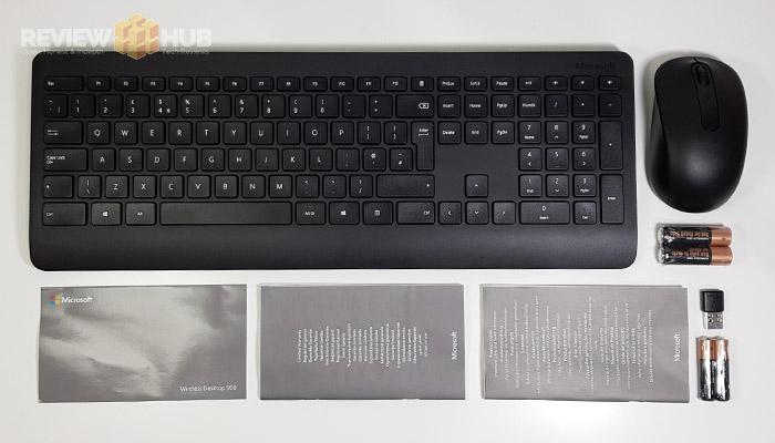 Microsoft Wireless 900 Desktop Keyboard Unboxing