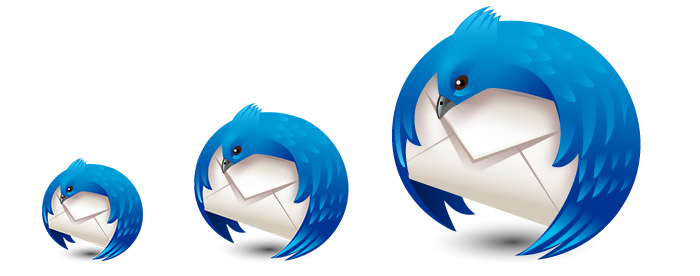 Thunderbird Email Scaling