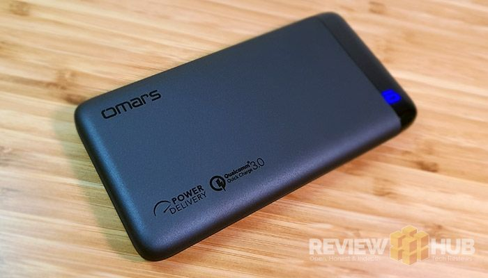 Omars 10000mAh Type-C PD PowerBank Review