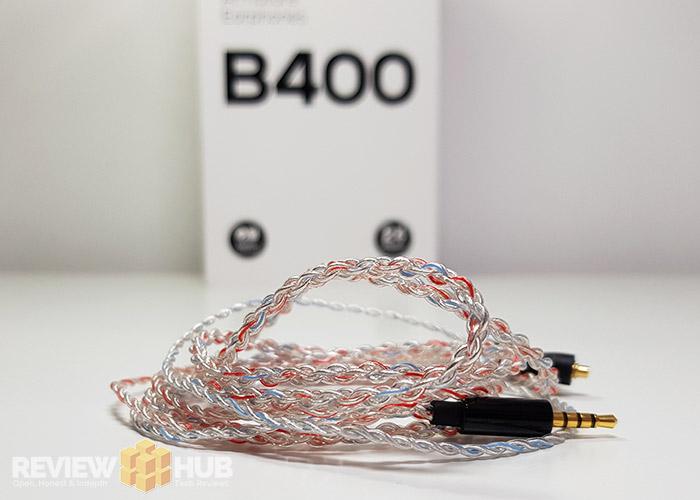 Brainwavz B400 Candy Cane MMCX Cable