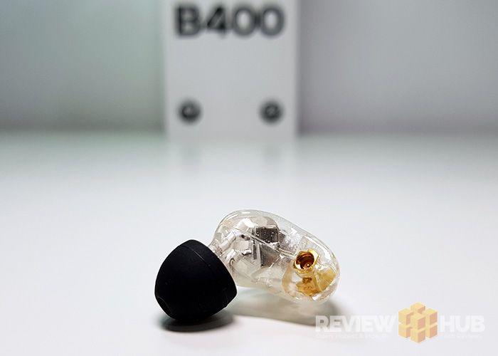 Brainwavz B400 MMCX Connection