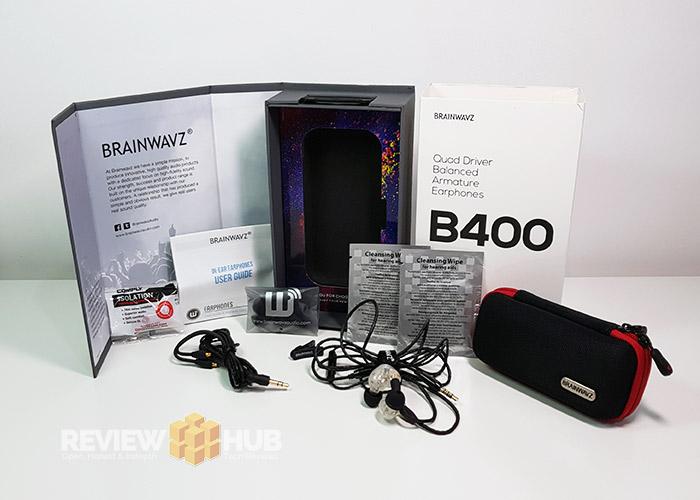 Brainwavz B400 Accessories
