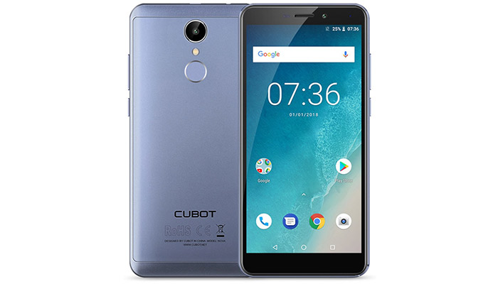 Cubot Nova Phone Blue