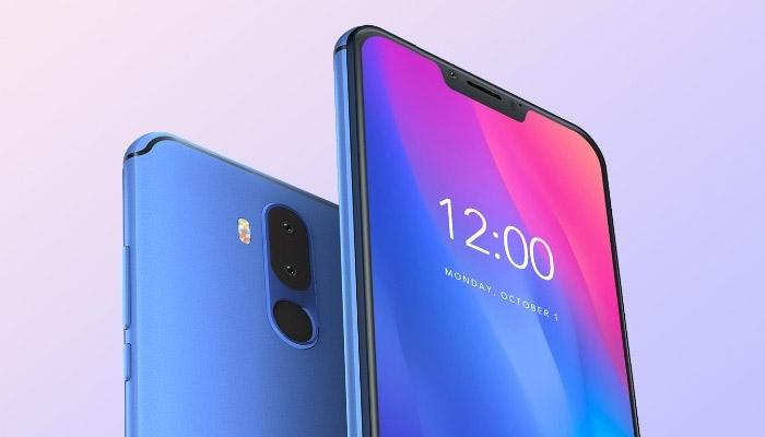 Vernee M8 Pro Phone Blue