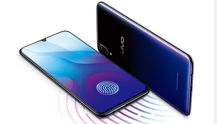 VIVO V11i In-display Fingerprint reader