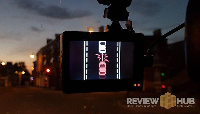 Yi Smart Dash Camera ADAS Feature