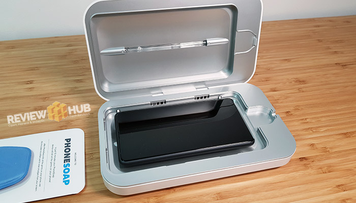 PhoneSoap V3 UV Sanitizing