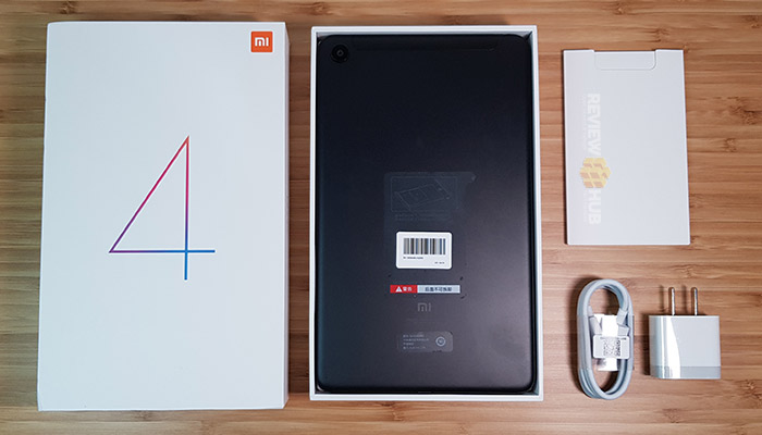 Xiaomi Mi Pad 4 Unboxing