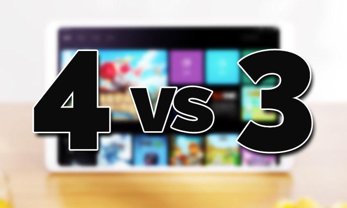Xiaomi Mi Pad 4 Vs Xiaomi Mi Pad 3