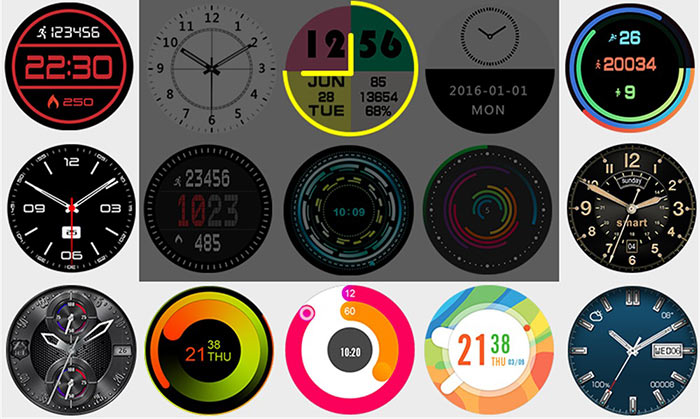 Zeblaze Thor 4 Watch Faces