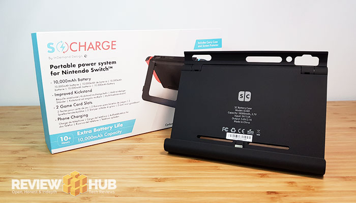 Nintendo Switch S-Charge 'Charging Case' Review